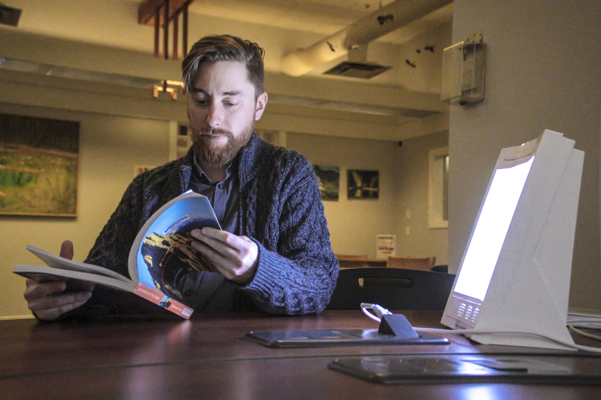 Terrace Public Library Director David Tremblay says the library is rolling out online programs for kids, and expects to have expanded borrowing options for e-books to help families through periods of self isolation due to the COVID-19 pandemic. (Natalia Balcerzak/File Photo)